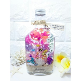 【特集搭載】ハーバリウム Herbarium 海 umi ウイスキーボトル