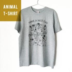 アニマルTシャツ オールスター集合