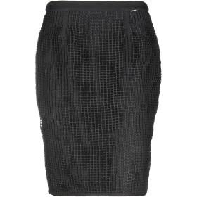 《期間限定セール開催中!》FRACOMINA レディース ひざ丈スカート ブラック 40 ポリエステル 100% / ポリウレタン