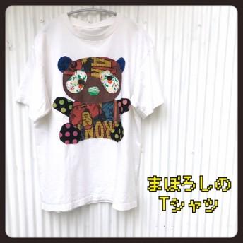 ブラウンパンダ◆まぼろしの古着リメイクTシャツ