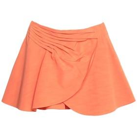 《セール開催中》EMPORIO ARMANI レディース ミニスカート オレンジ 40 レーヨン 64% / コットン 36%