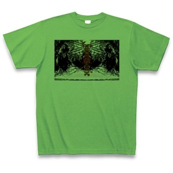 SUPER SONIC◆アート文字◆ロゴ◆ヘビーウェイト◆半袖◆Tシャツ◆ブライトグリーン◆各サイズ選択可