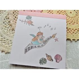 夏限定☆海からの贈り物☆ピアノを弾く可愛い天使☆