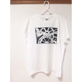 【受注制作】チャップリン モダンタイムス 映画Tシャツ