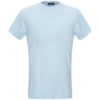 《セール開催中》COSTUME NATIONAL HOMME メンズ T シャツ スカイブルー S コットン 100%