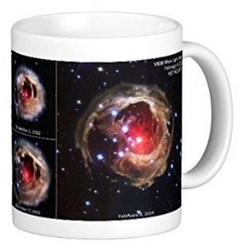 特異変光星 V838のマグカップ:フォトマグ(宇宙シリーズ)