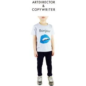 青いクチビル(KIDS)Tシャツ