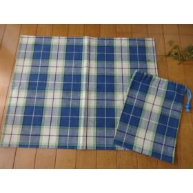 ランチョンマット 40×50 巾着袋付き 小学生 小学校机サイズ ナフキン 給食