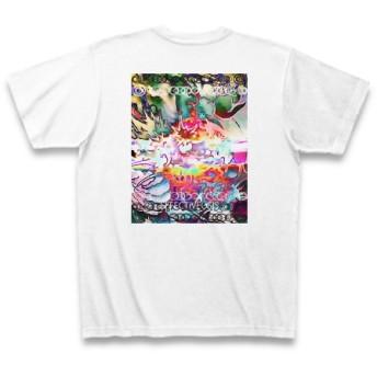 有効的異常症候群龍目◆アート文字◆ロゴ◆ヘビーウェイト◆半袖◆Tシャツ◆ホワイト◆各サイズ選択可