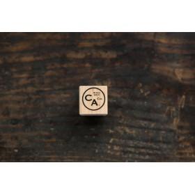 CA彩り工房ビンテージ LOGO D スタンプ