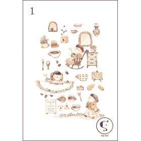 ポストカード 【 food 】2枚セット その1