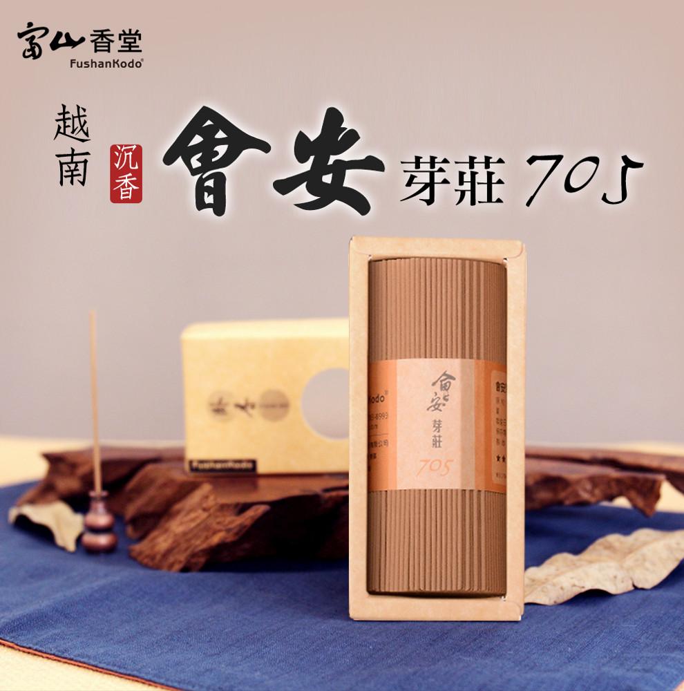 fushankodo 富山香堂會安芽莊705臥香100g/束