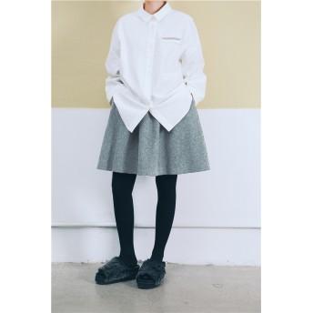 ウール100%スカート