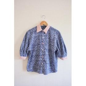 バルーン半袖のゆかた夏シャツ (no.305)