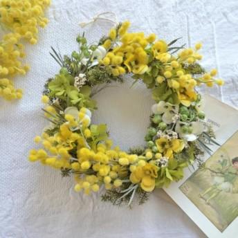 ミモザ~春を告げるリース