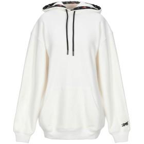 《期間限定セール開催中!》REEBOK レディース スウェットシャツ ホワイト XS コットン 100%