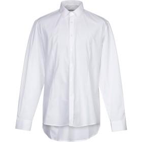 《期間限定セール開催中!》DANIELE ALESSANDRINI メンズ シャツ ホワイト 44 コットン 98% / ポリウレタン 2%