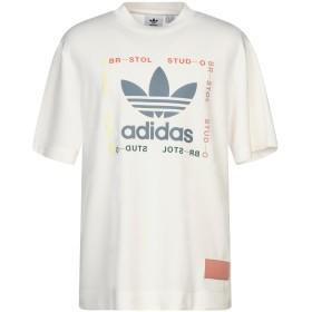 《セール開催中》ADIDAS ORIGINALS メンズ T シャツ アイボリー XL ポリエステル 100%