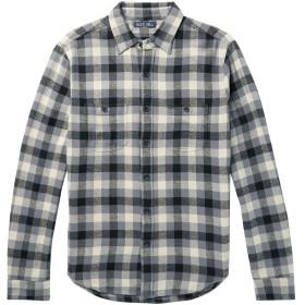 《セール開催中》ALEX MILL メンズ シャツ グレー XS コットン 100%