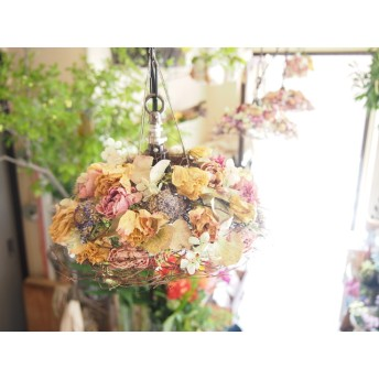 flower lampshade (A)