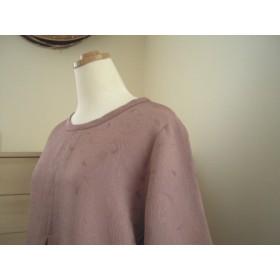 新春セール!着物リメイク ちりめん紋織のプルオーバー
