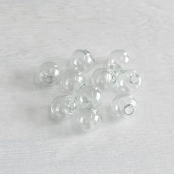 特価!ガラスドーム10個 10mm pt-151012-8 2000円以上で送料無料!