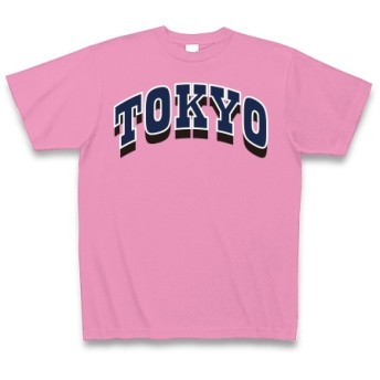 TOKYO◆アート文字◆ロゴ◆ヘビーウェイト◆半袖◆Tシャツ◆ピンク◆各サイズ選択可