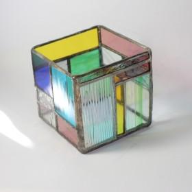 いろいろガラスのキャンドルホルダー