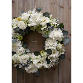 White Wreath 43~45cm