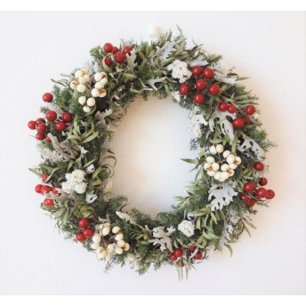 winter wreath(直径25cmリース)