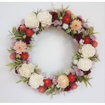 [1点もの]母の日 elegant flower wreath
