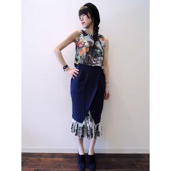 チューリップスカート+プリーツスカート2点セット