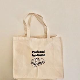 【再販☆送料無料】パストラミサンド シンプルトートバッグ