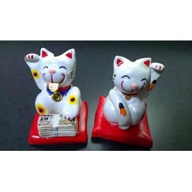 招き猫セット(金運招き、人招き)