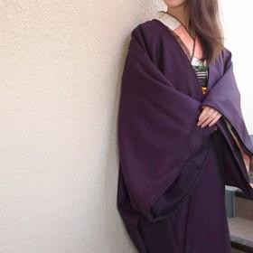 粋☆きものジャケット・イタリア製ウールツイード(膝丈)