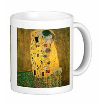 グスタフ・クリムトの『 接吻 』 のマグカップ 2:フォトマグ(世界の名画シリーズ)
