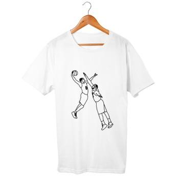 バスケ#5 Tシャツ 5.6oz