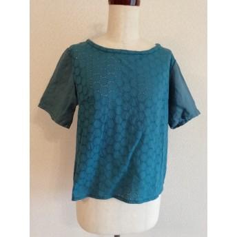 【sale】布Tシャツ〔リネン コットンレース〕