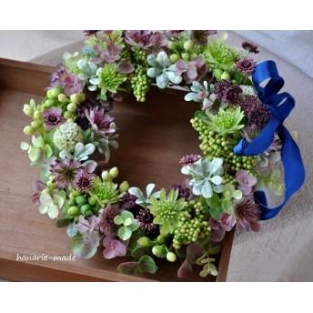 星の花 Astrantia wreath