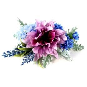 ダリアのシルバーカー用お花飾り