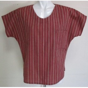 4329 #送料無料 綿の反物で作ったTシャツ