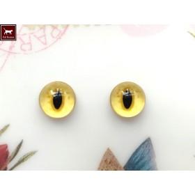 猫目グラスアイ 10ミリ Y02-10