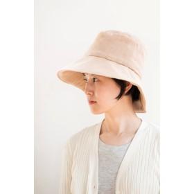 Organic Cotton 日よけ帽(茶綿ガーゼ)