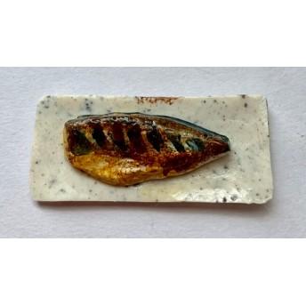 焼き魚 塩サバ