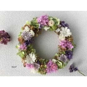 Hydrangea x Margaret  wreath リース ギフト