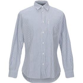 《期間限定セール開催中!》NORTH SAILS メンズ シャツ ブルー S コットン 100%