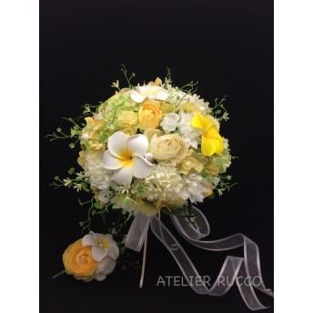 Wedding bouquet (Plumeria*21㎝)