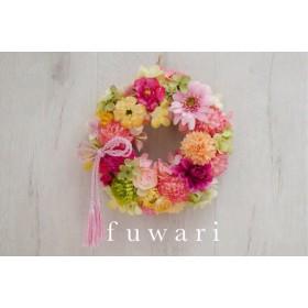 お雛祭り ︎和婚のリース pink
