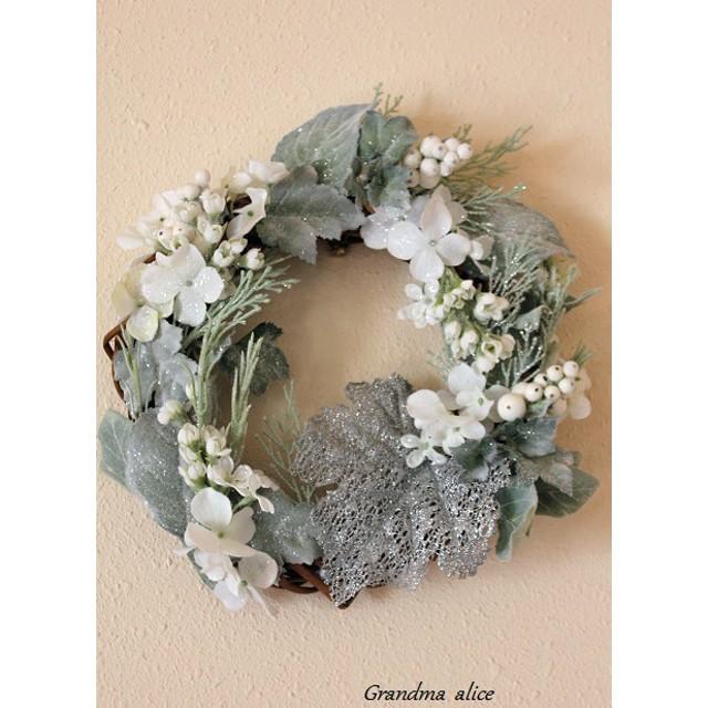 Silvergreen Leafのクリスマスリース