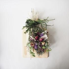 dried flowers swag(ドライフラワー)